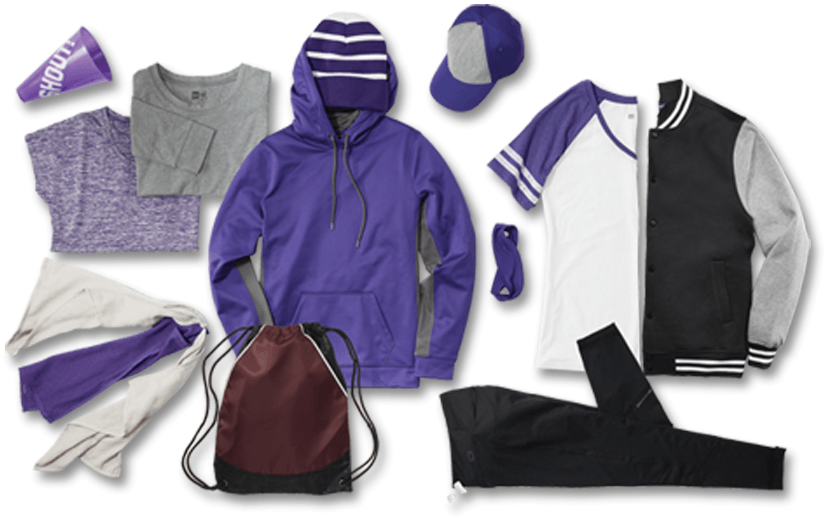 Select your Apparel | We carry a wide selection of apparel from known brands like A4, Champro Sports, Badger Sports, Augusta, Hanes, and Gildan among many others..
